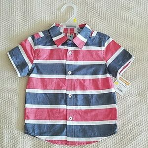 Boys Size 3T button down shirt.